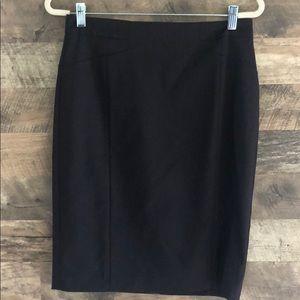 NWT Ann Taylor Dark Plum Brown Pencil Skirt